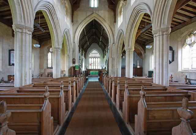 All Saints, East Winch, Norfolk - East end
