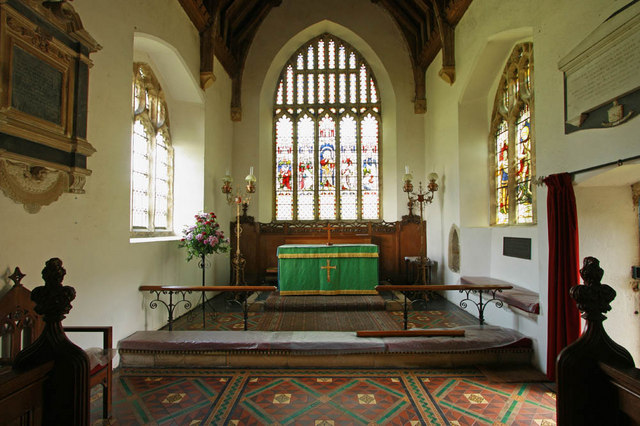 All Saints, East Winch, Norfolk - Chancel