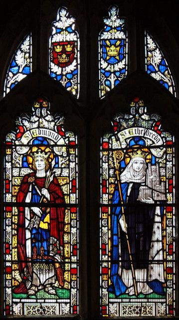 All Saints, East Winch, Norfolk - Window