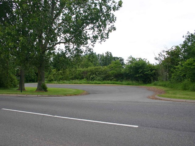 Entrance drive to Knolland's Farm