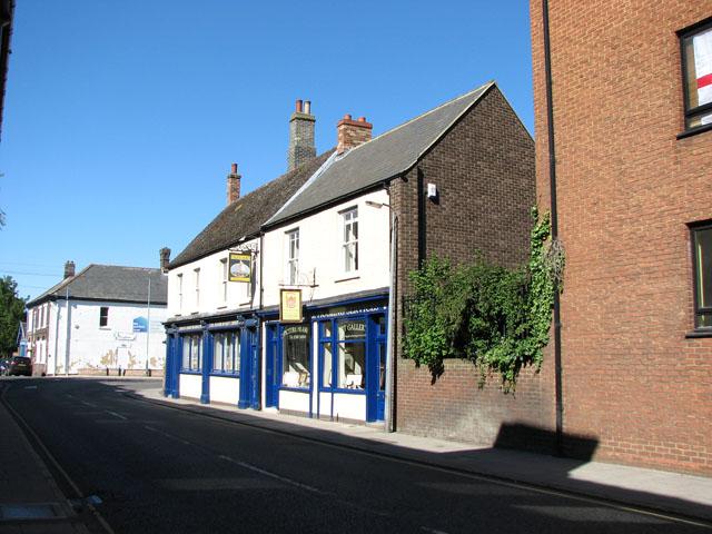 Shops in Chapel Street, Kings Lynn