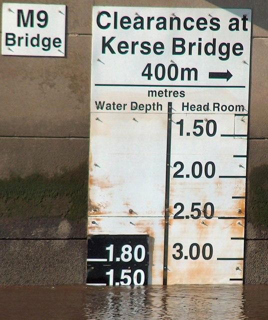 Kerse Bridge clearance