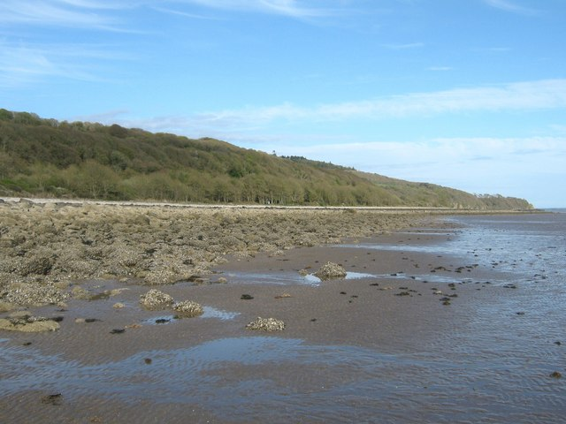 Low tide on Kirkdale Sands
