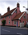 TM3569 : The Former Swan Public House, Peasenhall by Adrian Cable