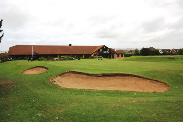 Clubhouse at Saltburn Golf Club