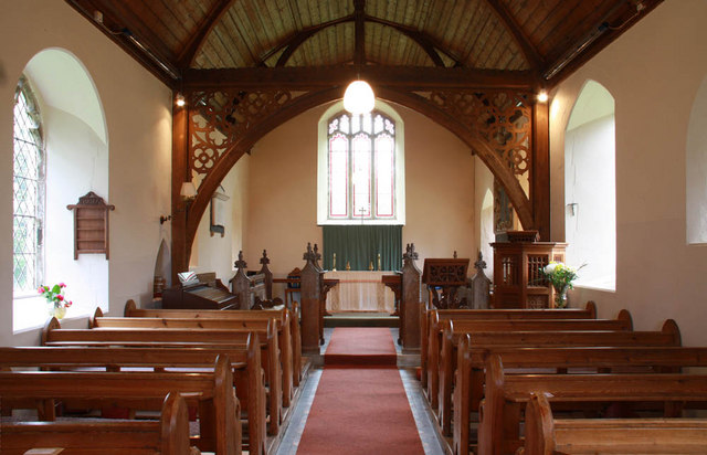 St Mary, Arminghall, Norfolk - East end