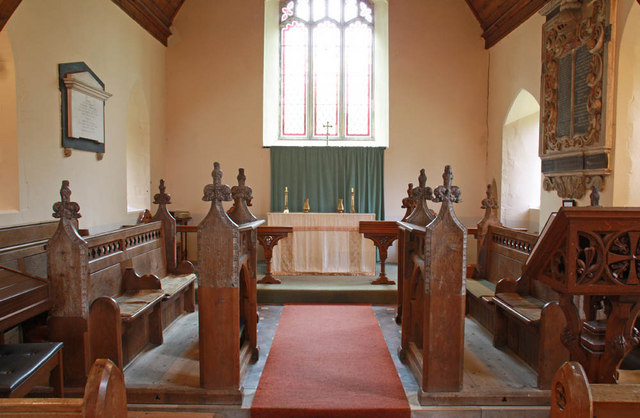 St Mary, Arminghall, Norfolk - Chancel