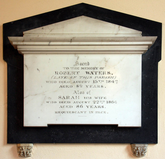 St Mary, Arminghall, Norfolk - Wall monument