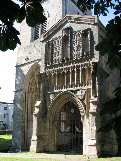 St Nicholas' Chapel in Kings Lynn - south porch