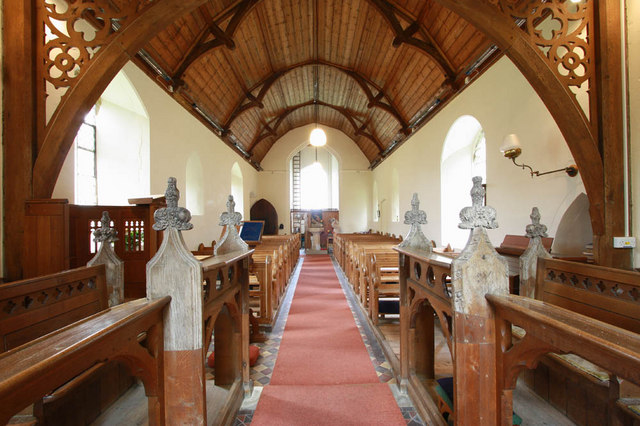 St Mary, Arminghall, Norfolk - West end