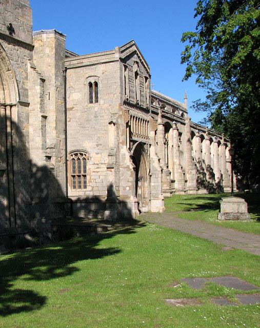 St Nicholas' Chapel in Kings Lynn