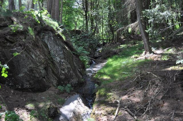 The Nantgwyllt brook
