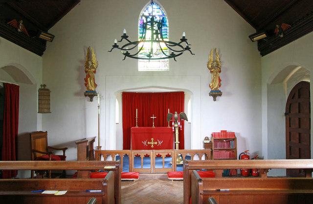 All Saints, Keswick, Norfolk - East end