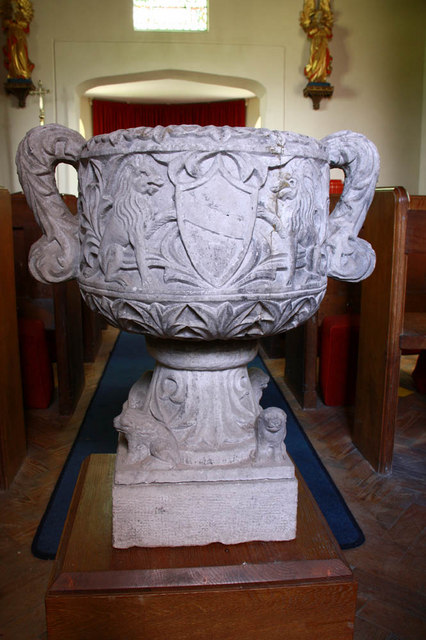 All Saints, Keswick, Norfolk - Font