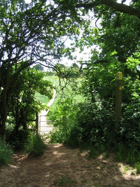 Footpath towards Red Lane