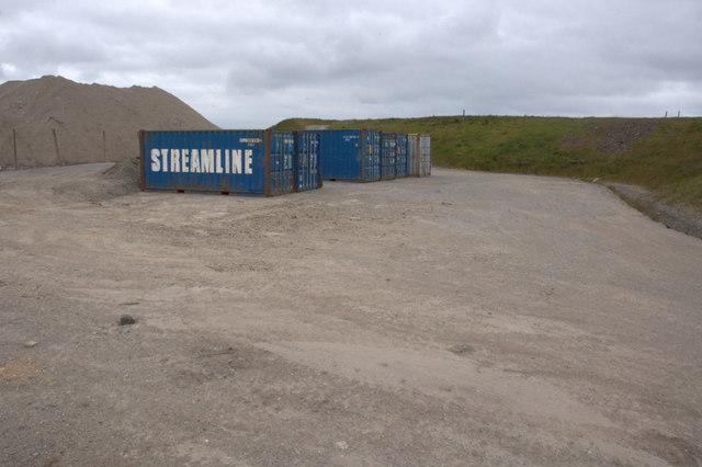 Former landfill site, Rova Head, Lerwick