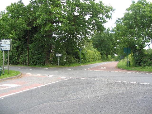 Crossroads, Hodgett's Lane