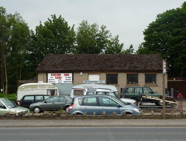 Station Road Garage, Bamford