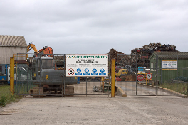 60 North Recycling, Rova Head, Lerwick