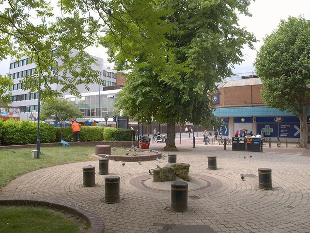 Square in Woking