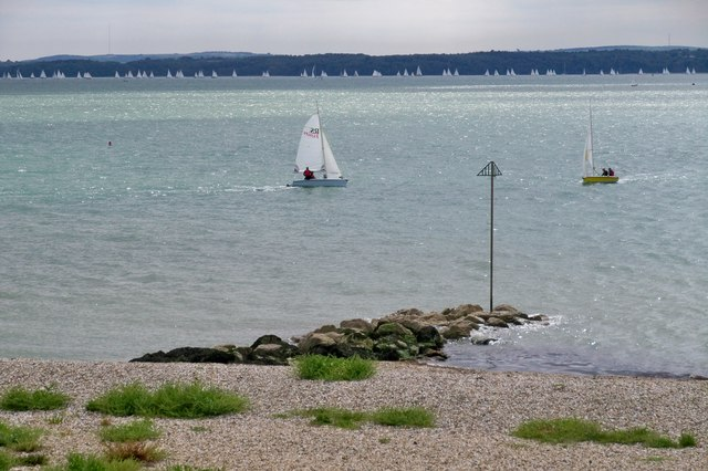 Sailing At Lee on The Solent