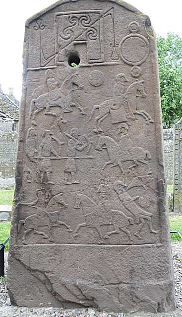 The Aberlemno Cross