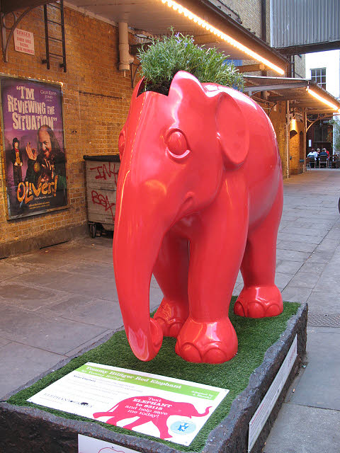 Tommy Hilfiger's Red Elephant