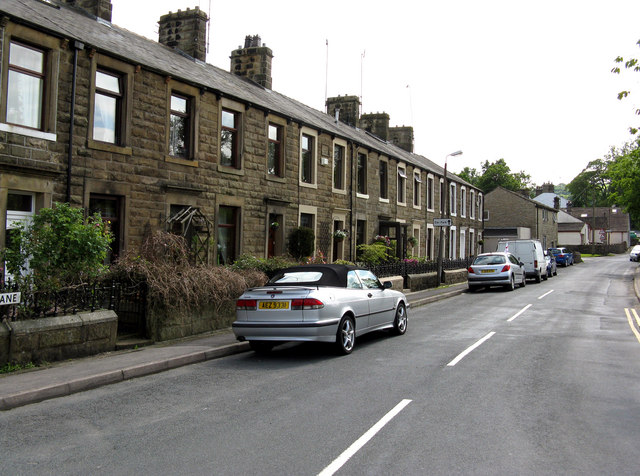 Salterforth:  Salterforth Lane (Park View Terrace)