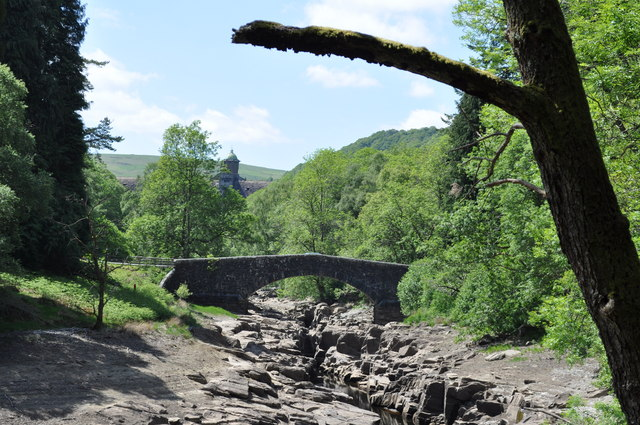 Road bridge at Elan Valley