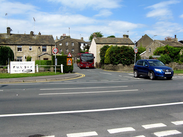 Salterforth Village