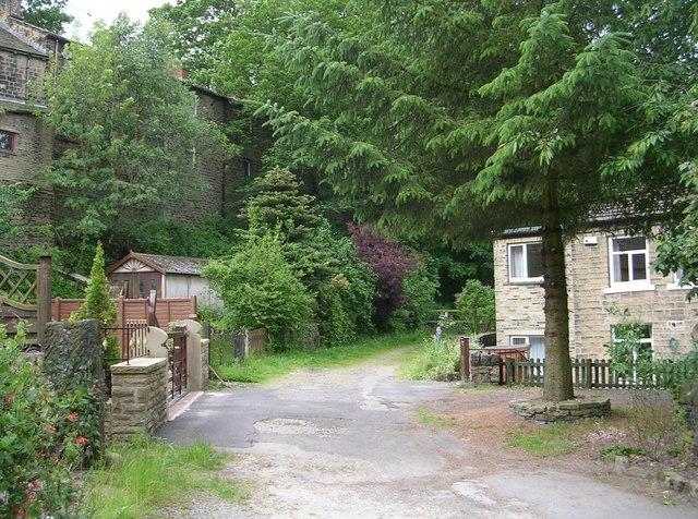 Footpath - Dyson Hill, Thirstin Road