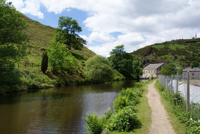 The Rochdale Canal at Gauxholme