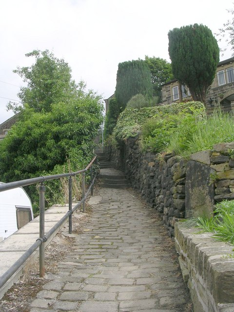 Footpath - Thirstin Road