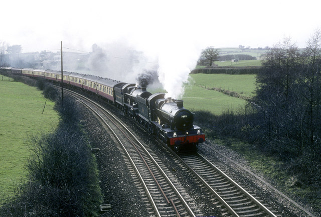 Steam Excursion approaches Totnes