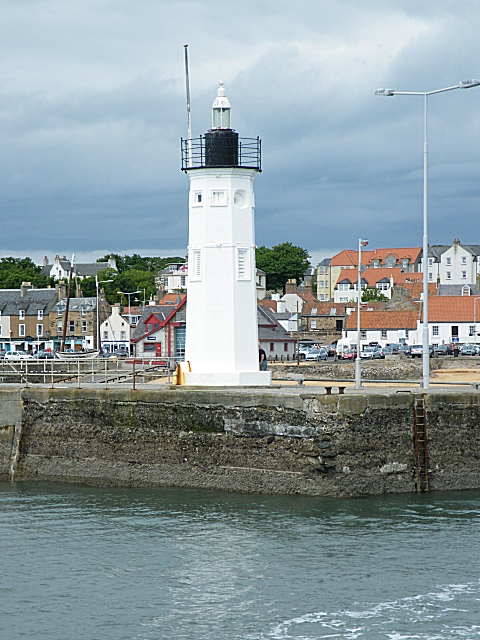 Anstruther Harbour Light
