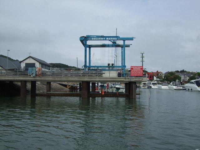 Deganwy Marina Lift