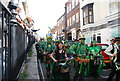 TQ8209 : Jack in the Green Festival 2010 - massed drummers by N Chadwick