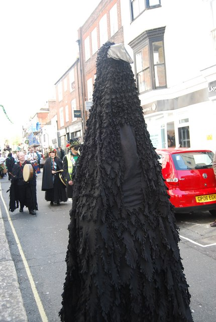 Jack in the Green Festival 2010 - a Raven