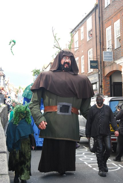 Jack in the Green Festival 2010 - a giant