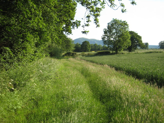 Footpath to Lower Howsell