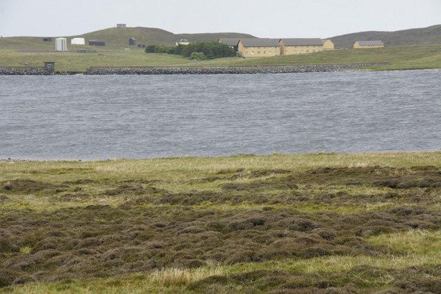 Sandy Loch reservoir, Lerwick