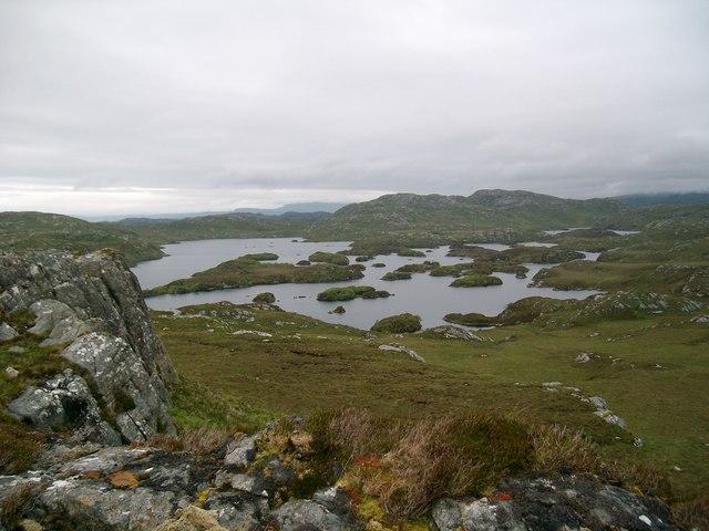 Loch Crocach islands