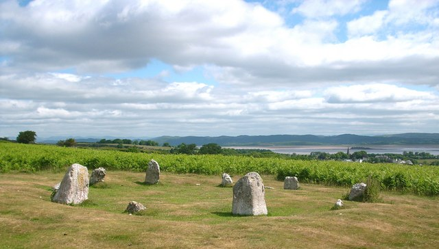 Stone Circle on Birkrigg Common