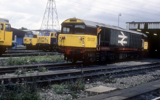 Saltley depot outside the shed