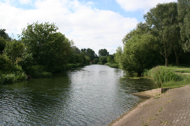 Channel to the River Nene