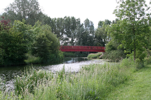 Footbridge by the River Nene
