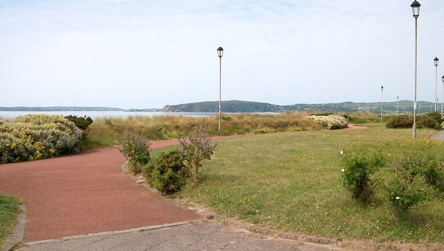 Gardens on the promenade at Pwllheli