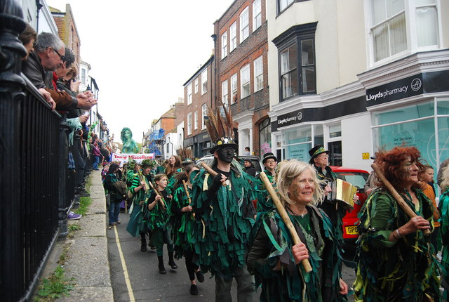 Jack in the Green Festival 2010 - morris dancers