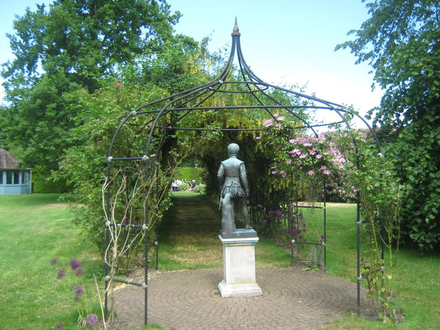 Arbour in Seaton Delaval Hall gardens