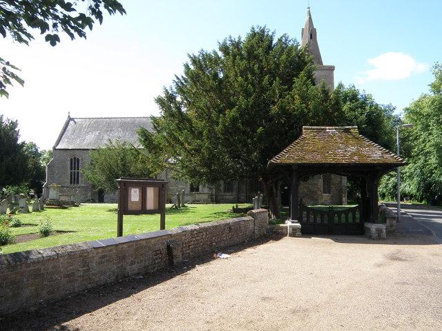 Doddington Church and Lych Gate